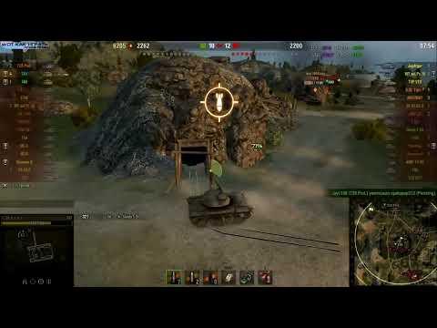 """Т49 КАК ПРАВИЛЬНО ИГРАТЬ НА КАРТЕ """"РУДНИКИ"""" World of Tanks. Лучший бой T49 статисты WoT."""