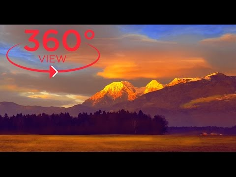 360 VR VIDEO - the Most Beautiful Place in the World (360° degree video vr travel&nature)