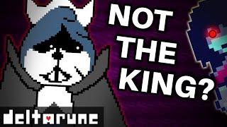 Deltarune?s TRUE Villain isn't the KING! (Undertale 2 Theory)