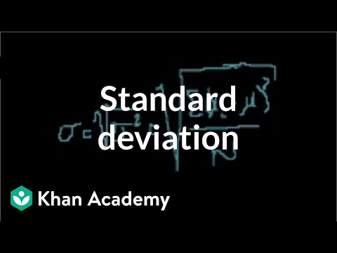 Statistics: Standard Deviation