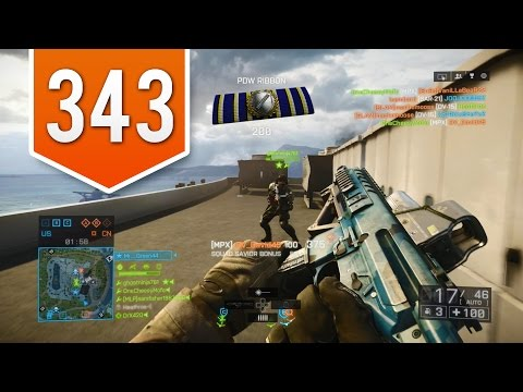 BATTLEFIELD 4 (PS4) - Road to Colonel - Live Multiplayer Gameplay #343 - FINALLY DID A TRICKSHOT!