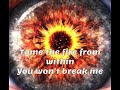 Breaking Benjamin-Tourniquet Lyrics