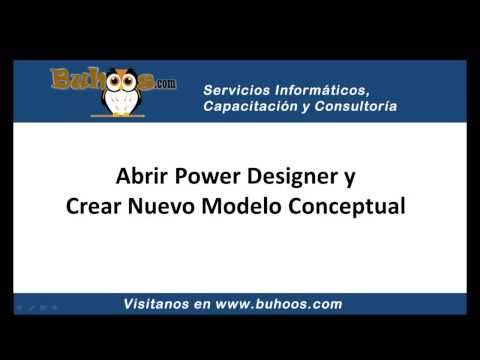 Modelo de base de datos con Power Designer