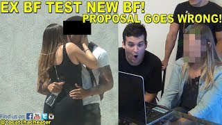 MARRIAGE PROPOSAL GOES WRONG!!!! EX SHOWS UP!!!!   To Catch a Cheater