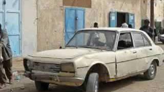 Dric en Afrique. Véhicules insolite. Mauritanie.