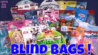 Blind Bags Opening Toys Surprises 20 Toy Review Kids Fun