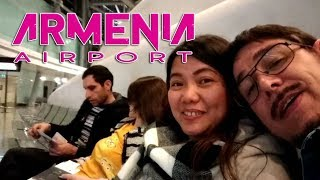 ARMENIA - EVN ZVARTNOTS INTERNATIONAL AIRPORT/BOARDING AREA /TRAVEL VLOG II