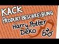 Kack Produktbeschreibung - Harry Potter Deko