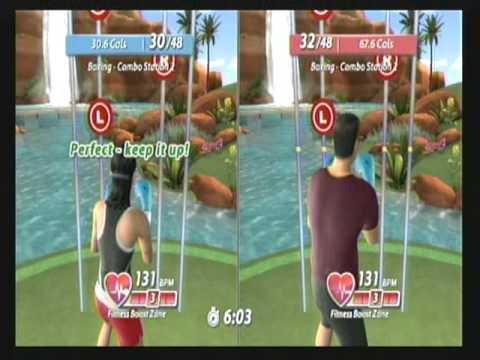 Wii Workouts – EA Sports Active 2 – Working out with a friend