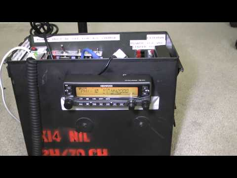 Ham Radio Go-Box Kenwood TMV-71A