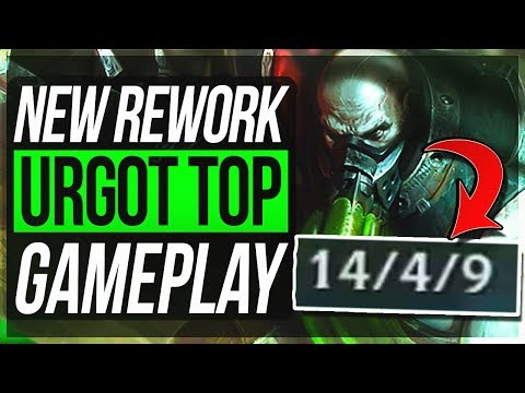 URGOT REWORK IS SO BROKEN?! - Urgot Top Gameplay - League of Legends