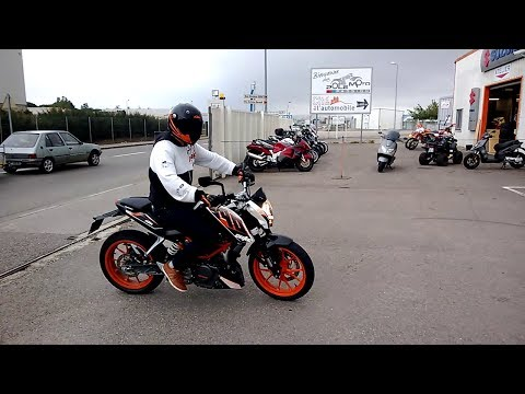Test Ride - new KTM Duke 390