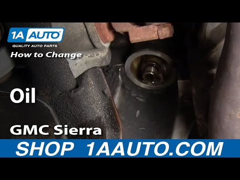 How To Change Oil Chevy Silverado GMC Sierra 2500HD 6.0L 00-06 - 1AAuto.com