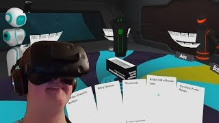 AltspaceVR With The HTC Vive - Cards Against Humanity