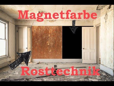 Die günstigste Magnetfarbe & Rostoptik der Welt - selber herstellen