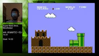 Super Mario Bros. - Blindfolded World 1