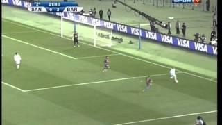 Jogo completo entre  Barcelona X Santos, final mundial de clubes
