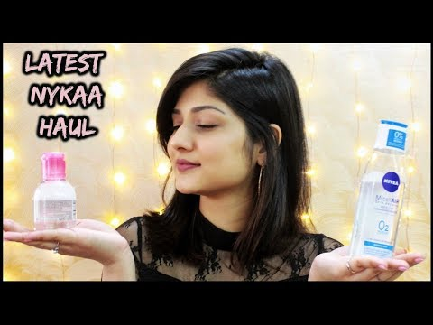 LATEST NYKAA HAUL | December 2018 | Manasi Mau