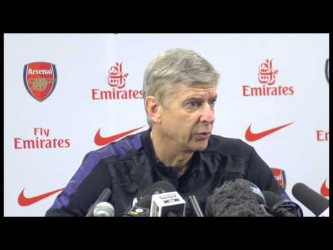 Arsenal 5-2 Spurs - Arsene Wenger on this year's derby importance
