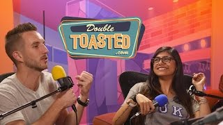 MIA KHALIFA INTERVIEW - Double Toasted Funny Podcast Highlight
