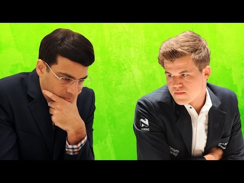 Norway Chess 2015 - Viswanathan Anand vs Magnus Carlsen (Grand Chess Tour)