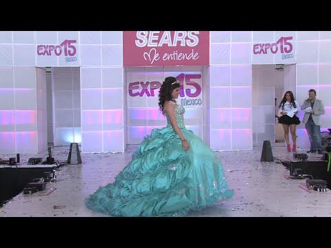 Expo 15 México. Pasarela  de vestidos de 15 años, Diseñador Jorge Magno