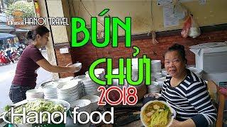BÚN CHỬI Hà Nội 2018 ăn có SƯỚNG? Hanoi Food Travel Phố