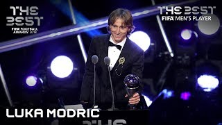 Luka Modric reaction - The Best FIFA Men