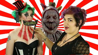 Twisty the Clown AHS Glamour Make-Up Tutorial - Chrissy's Halloween Special