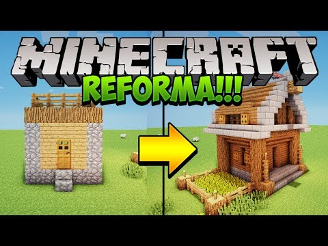 Minecraft: Deixe as casas de Vilas mais bonitas!