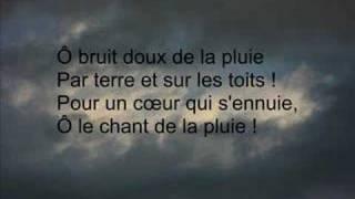 Paul VERLAINE Il pleure dans mon coeur dit par Alain Jahan