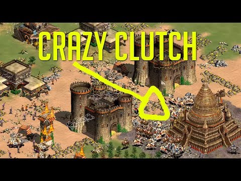 Most Clutch King Of Hill Ever Aoe2 Community Game