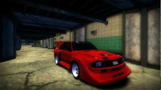 Need for Speed Most Wanted 2005 - Audi S1 Sport Quattro Gr. B Mod