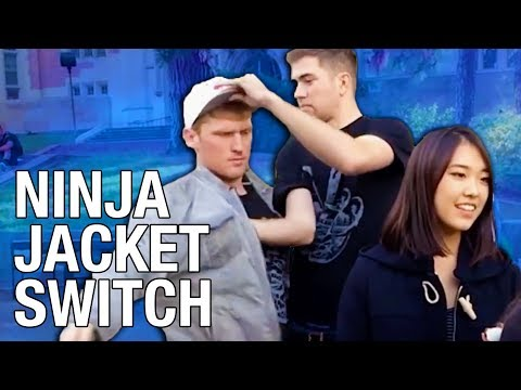 Ninja Fast Person Switch Prank video