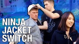 Ninja Fast Person Switch Prank