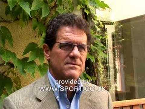 Fabio Capello on England