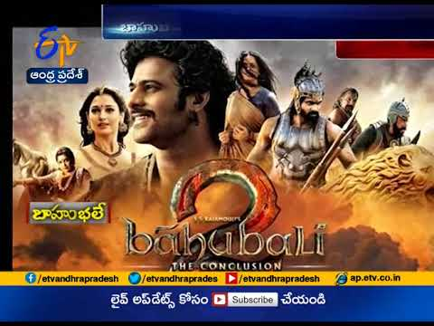 Watch Video  Bahubali Set On Road | Draws Attention Of Public | Ongole
