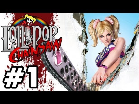 Lollipop Chainsaw - 'Playthrough PART 1 + GIVEAWAY [PS3]' TRUE-HD QUALITY