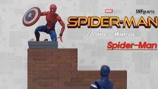 [피규어리뷰] S.H.Figuarts Spider-man Homecoming Version Review (스파이더맨 홈커밍 버전)