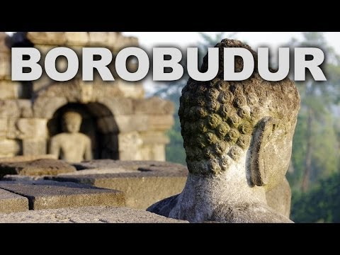 Borobudur, the Largest Buddhist Monument in the World
