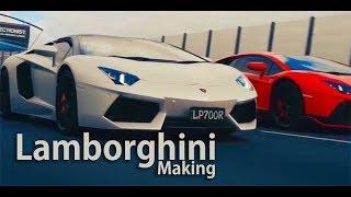 Lamborghini 2018 super car Extra Modification in work shop Excellent!!