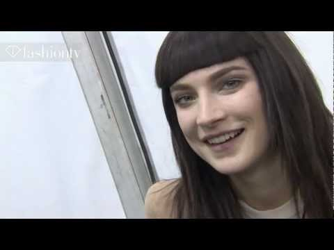 Jacquelyn Jablonski - Model Talk at Fall/Winter 2012/13 Fashion Week | FashionTV