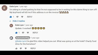 Inspiring and helping people on youtube answering comments making car enthusiast friends online