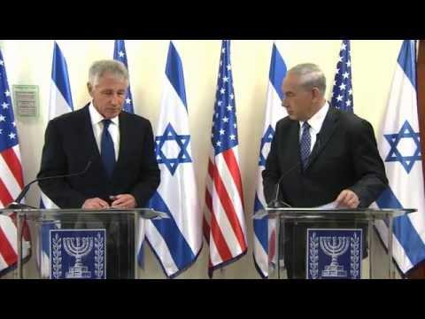 Prime Minister Benjamin Netanyahu's Meeting with US Secretary of Defense Chuck Hagel