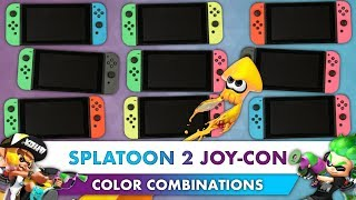 Every Nintendo Switch Neon Green/Pink Joy-Con Color Combination! (4K)