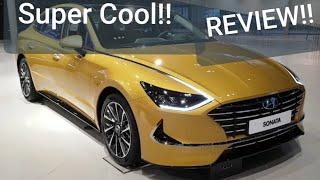 Review! '20 Hyundai Sonata DN8! Super cool Gold color! real world best! 골드 소나타 현대