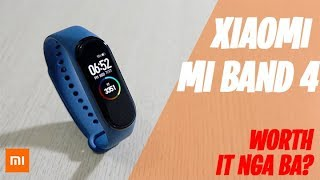 Mi Band 4 by XIAOMI Review: Worth it nga ba?! (English/Tagalog)