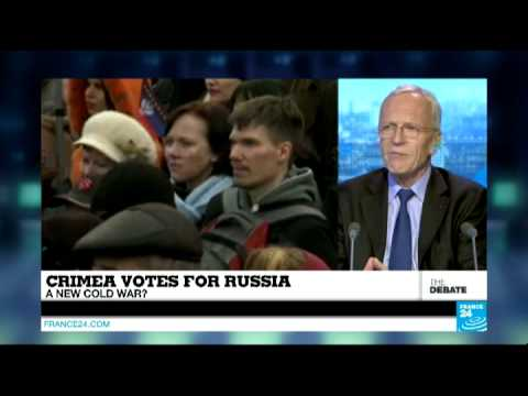 Crimea Votes For Russia: A New Cold War? (Part 1) - #F24Debate