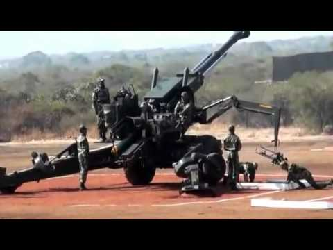 Bofors Gun used in Kargil War Display by Indian Army | Military Parade