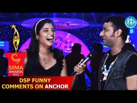 Devi Sri Prasad Funny Comments on Anchor Shyamala - SIIMA 2014 Awards